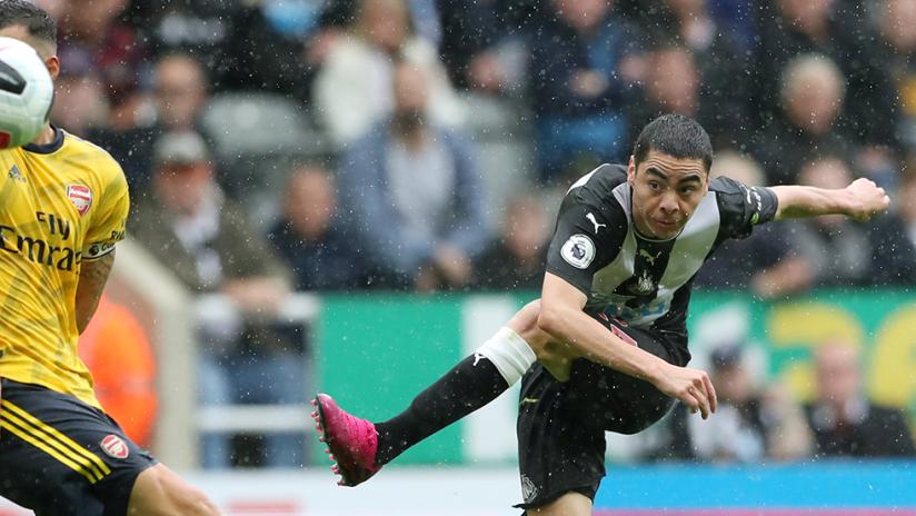Miguel Almiron - Newcastle United - vs Arsenal