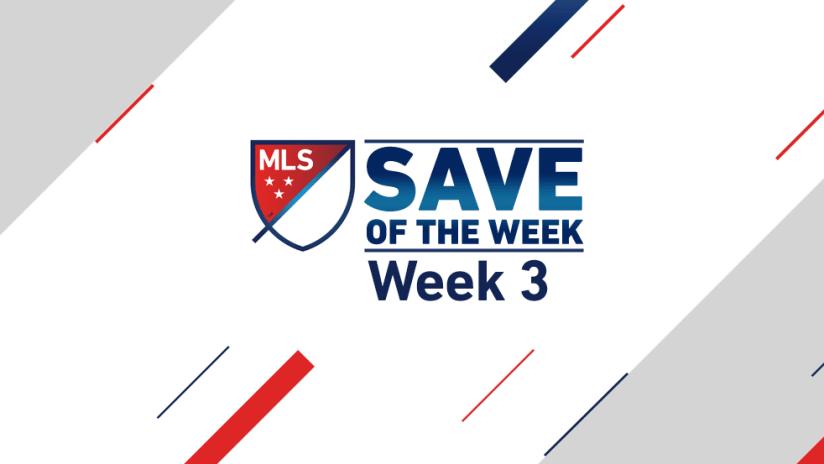 Save of the Week - 2016 - Week 3