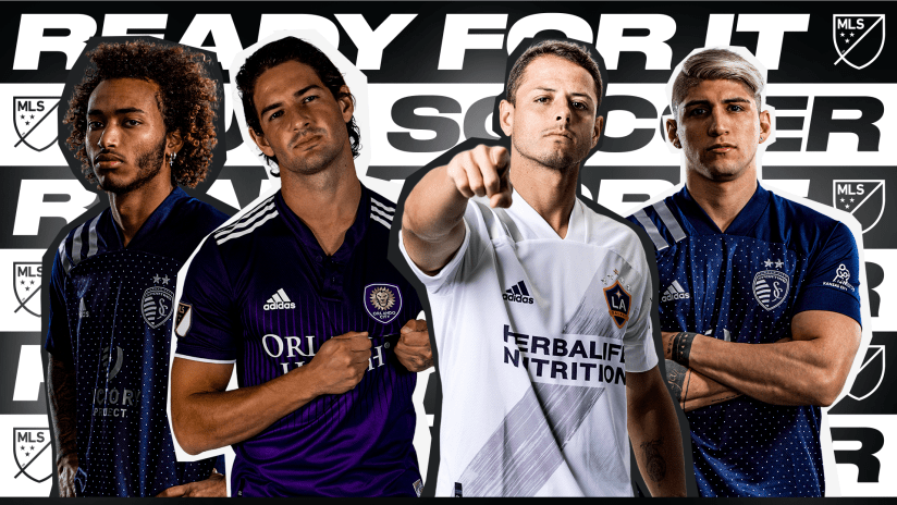 MLS is Back player interviews