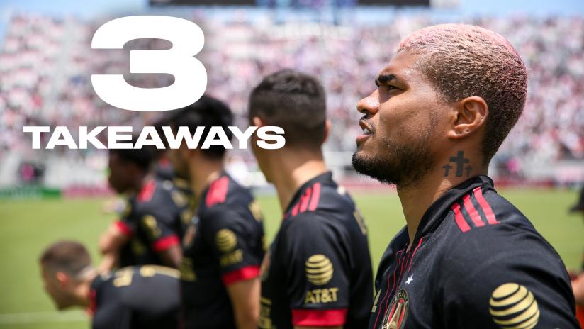 Three takeaways from Atlanta's draw with Miami