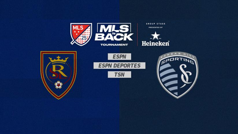 MLS is Back Tournament - Jul 22 - RSLvsSKC