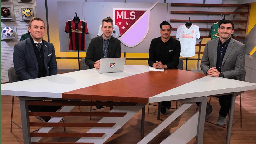 MLS Cup Central - 2018 - Twellman in studio