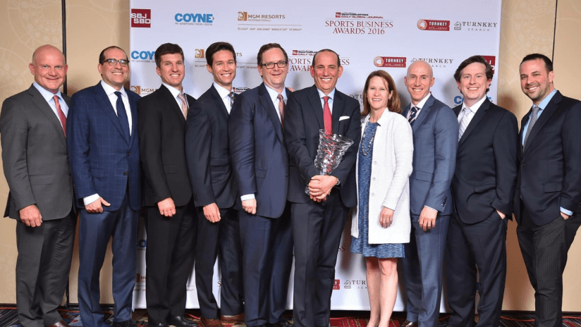 MLS - League of the Year - Sports Business Awards 2016