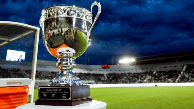 Cascadia Cup at Empire Field in Vancouver