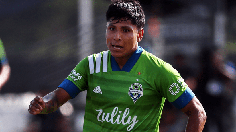 Raul Ruidiaz - Seattle Sounders - July 14, 2020
