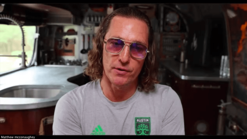 Austin FC owner Matthew McConaughey answers: What is a minister of culture?
