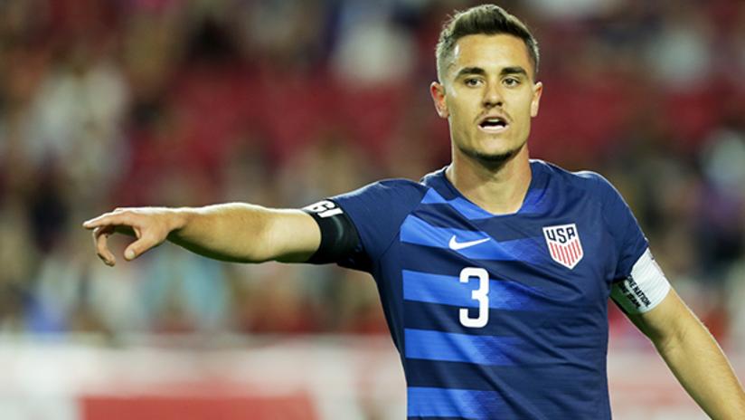 Aaron Long - US national team - January 27, 2019