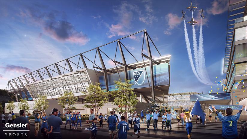 San Diego standing rendering - 2017 expansion bid