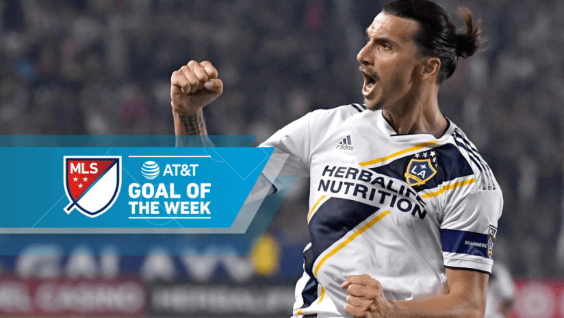 Zlatan Ibrahimovic - Goal of the Week