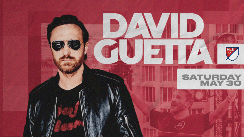 David Guetta - United at Home - promo image with date