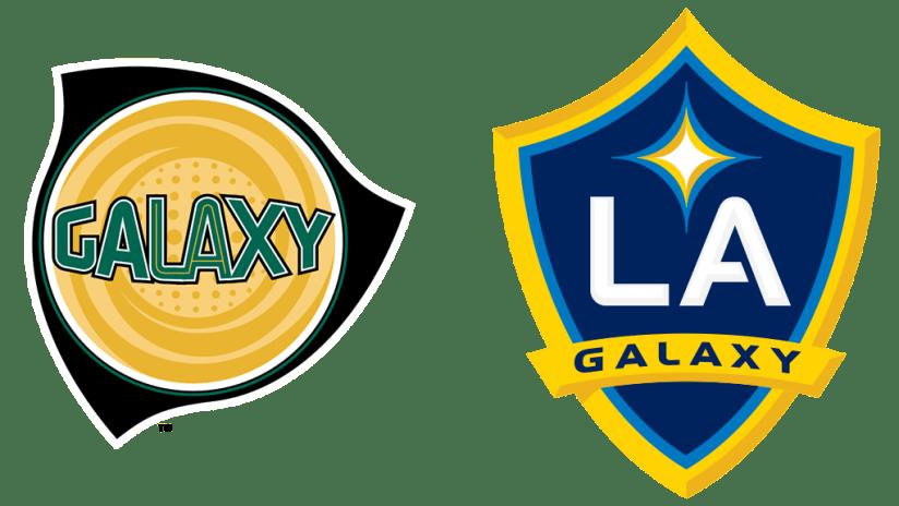 Logo history - LA Galaxy