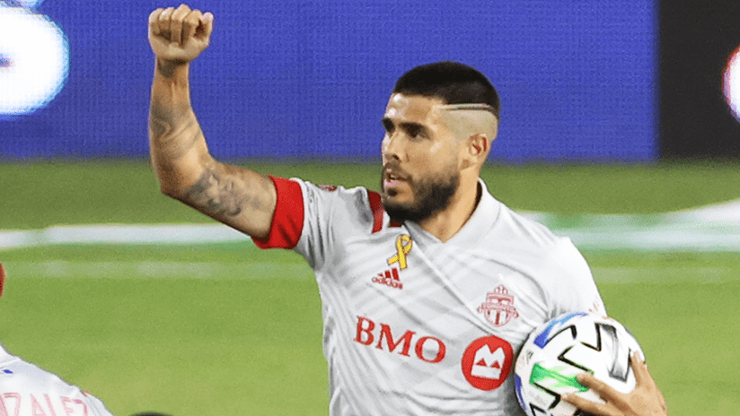 Alejandro Pozuelo - Toronto FC - September 19, 2020