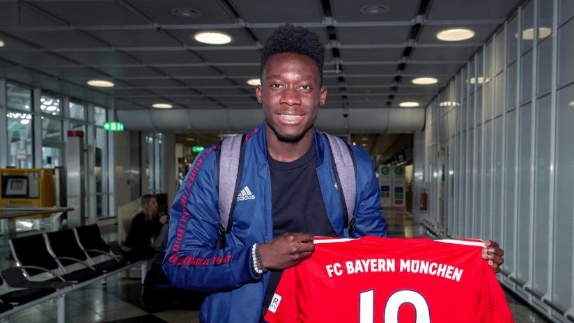 Alphonso Davies - Bayern Munich - First day
