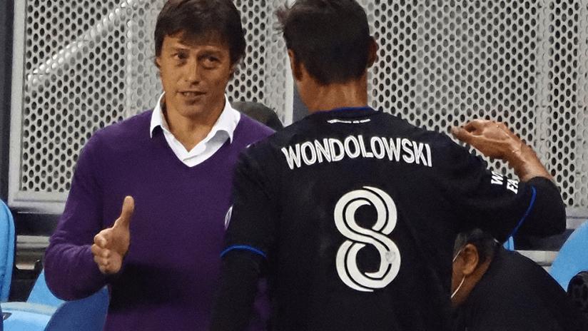 Chris Wondolowski and Almeyda - 2020