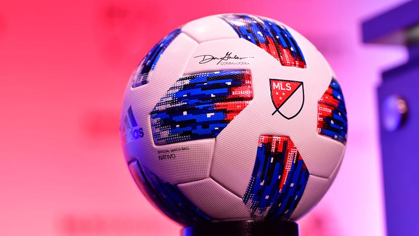 2018 adidas MLS ball - generic image - from SuperDraft