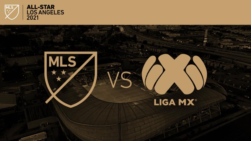 All-Star 2021 - MLS vs LigaMX logos