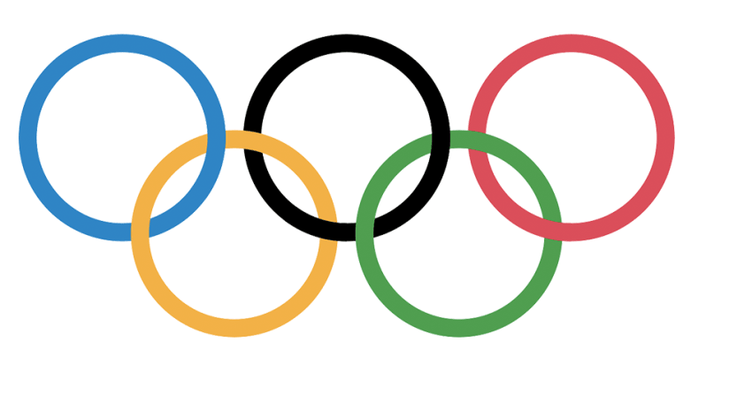 Olympics logo - rings only