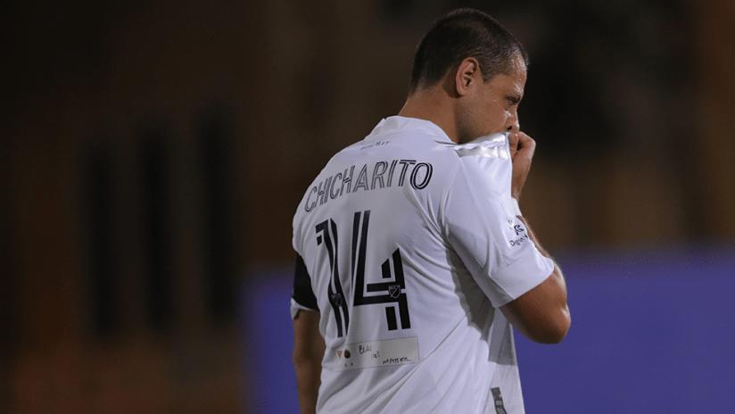 """Javier """"Chicharito"""" Hernandez - LA Galaxy - Close up"""