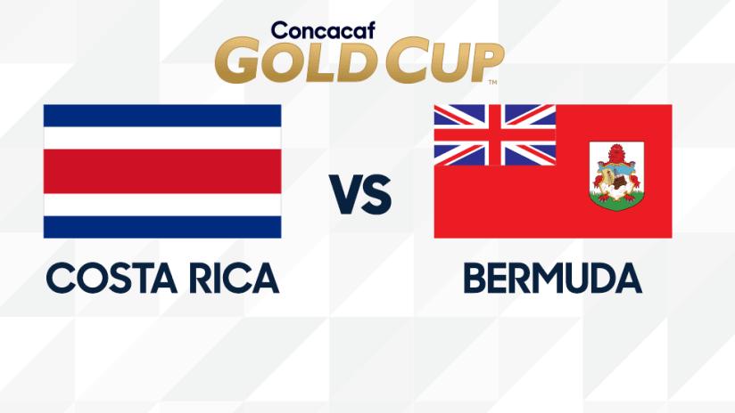 Gold Cup - 2019 - CRC vs BER
