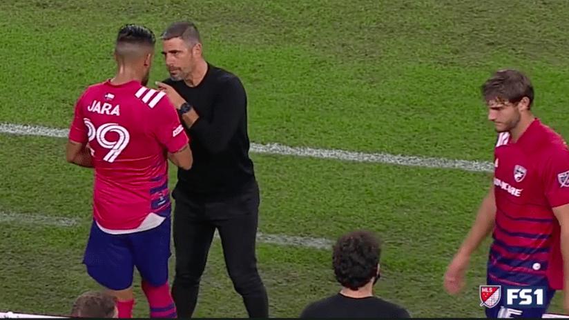 Luchi Gonzalez vs. Franco Jara SCREENSHOT
