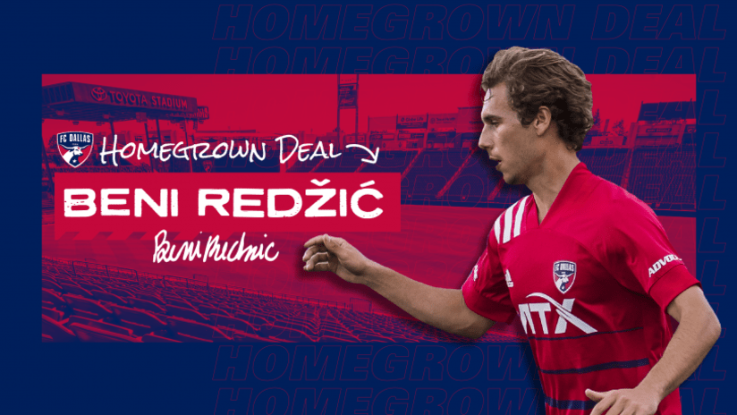 FC Dallas sign winger Beni Redzic to Homegrown deal