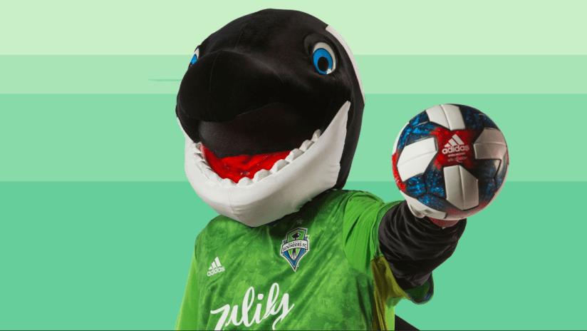 Seattle Sounders mascot - THUMB