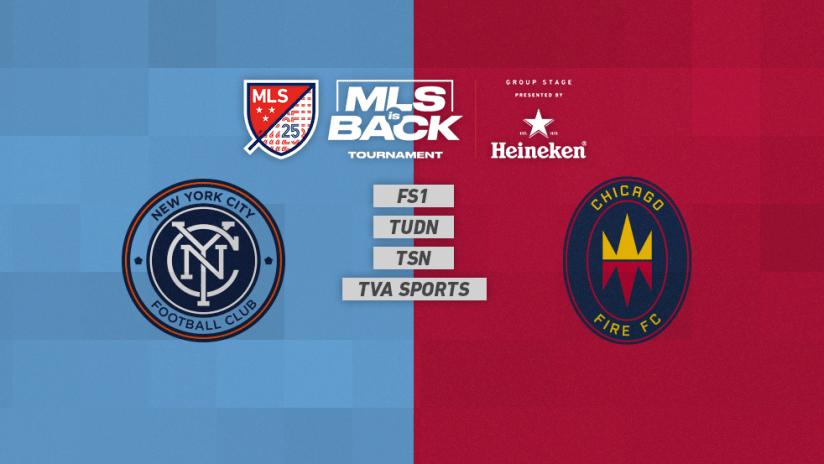 MLS is Back Tournament - Jul 19 - NYCvsCHI