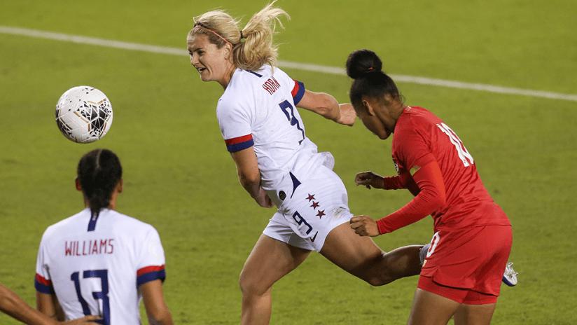 Lindsey Horan - US women's national team (USWNT) - vs. Panama
