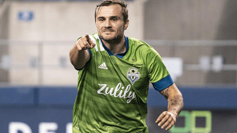 Jordan Morris - Seattle Sounders - October 7, 2020
