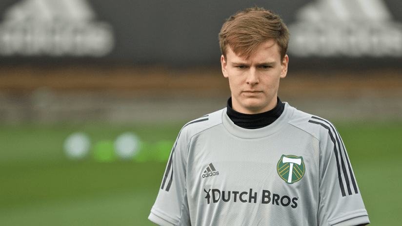 Blake Bodily - Portland Timbers - Training