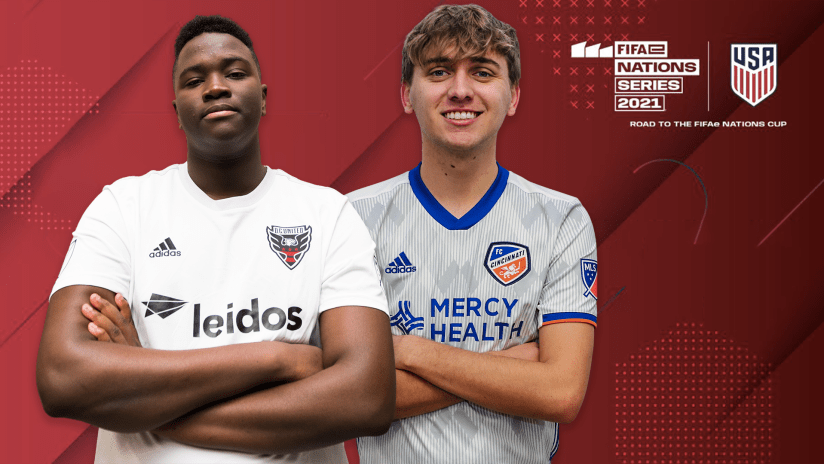 FC Cincinnati's Fiddle, D.C. United's KingCJO make US eNational Team