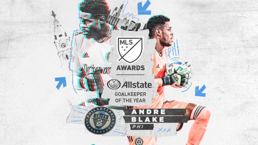 Awards - 2020 - Allstate MLS Goalkeeper of the Year