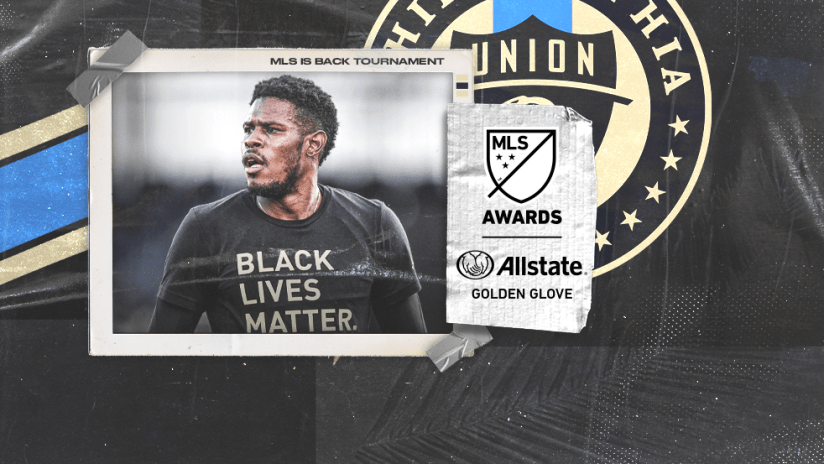 MLS is Back Tournament - awards - Golden Glove