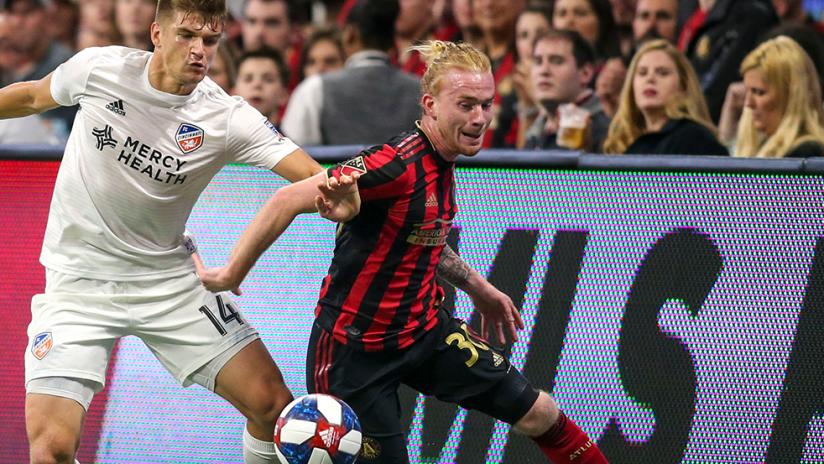 Andrew Carleton, Nick Hagglund - Atlanta United vs. FC Cincinnati