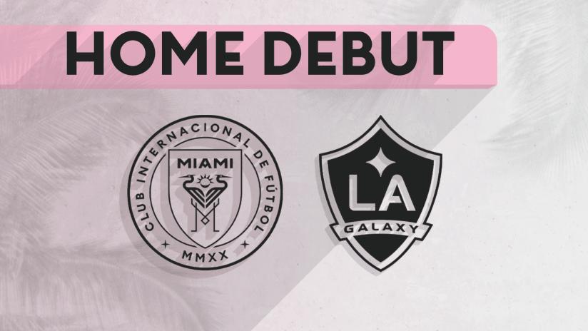 Inter Miami home opener - November 13, 2019
