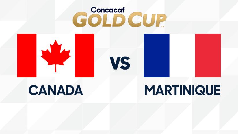 Gold Cup - 2019 - CAN vs MTQ