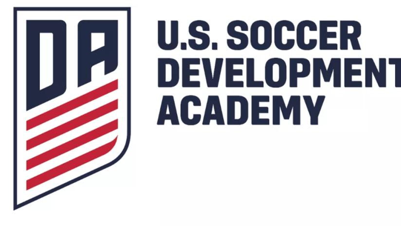 U.S. Soccer Development Academy - USSDA - logo and text