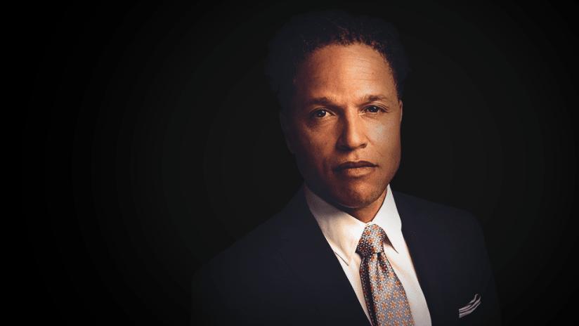 Cobi Jones - portrait against black background - use only for special posts