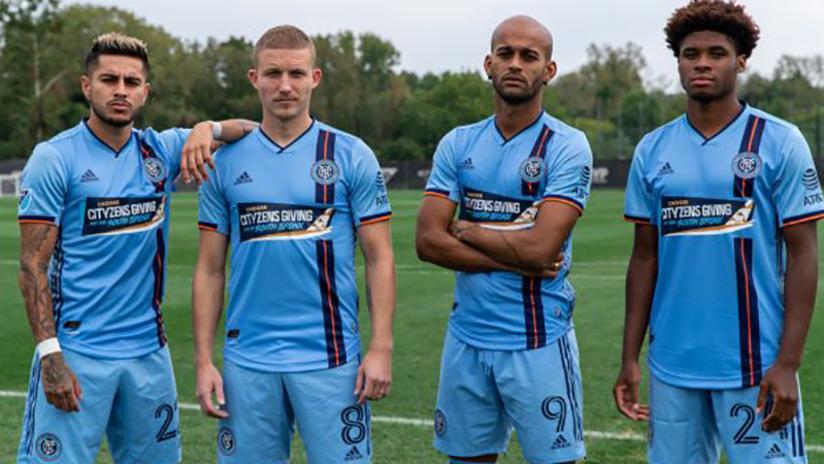 NYCFC jerseys - September 12, 2020