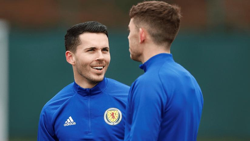 Lewis Morgan - Scotland - smile during training