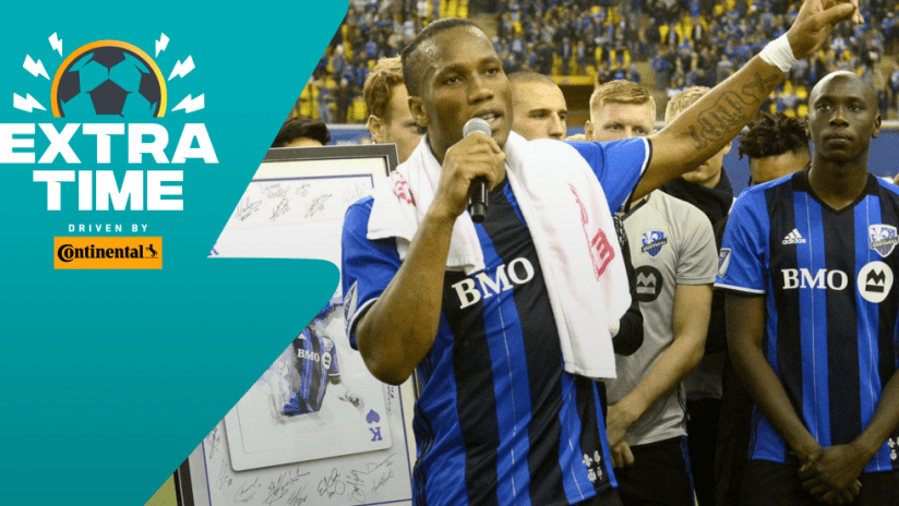 Extratime: Didier Drogba - Montreal Impact farewell