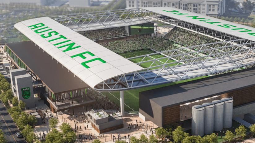 Austin stadium rendering - 2018