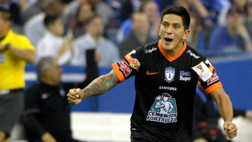 German Cano - with Pachuca - 2015 CCL