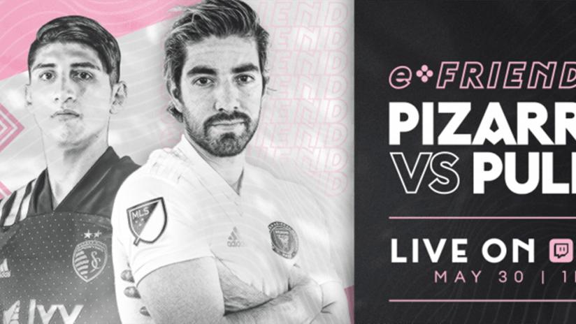 Pizarro vs. Pulido - FIFA 20 stream