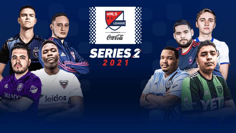 emls - 2021 - league series two - top 8