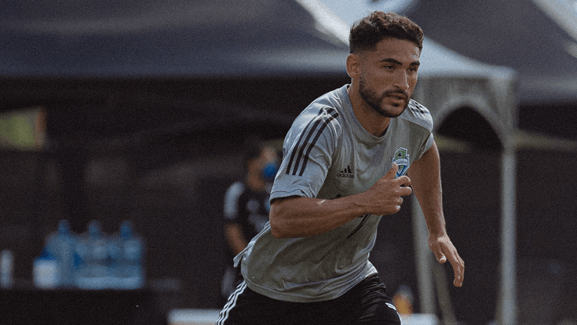 Cristian Roldan - Seattle Sounders - July 2020 - training