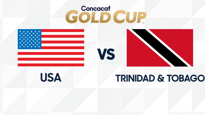 Gold Cup - 2019 - USA vs TRI