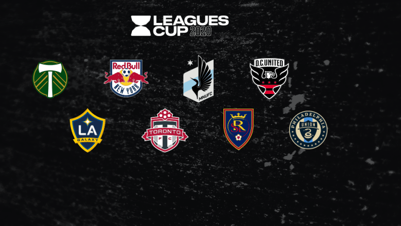 Leagues Cup - 2020 - MLS clubs
