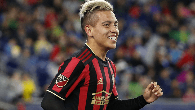 Ezequiel Barco - Atlanta United - April 13, 2019