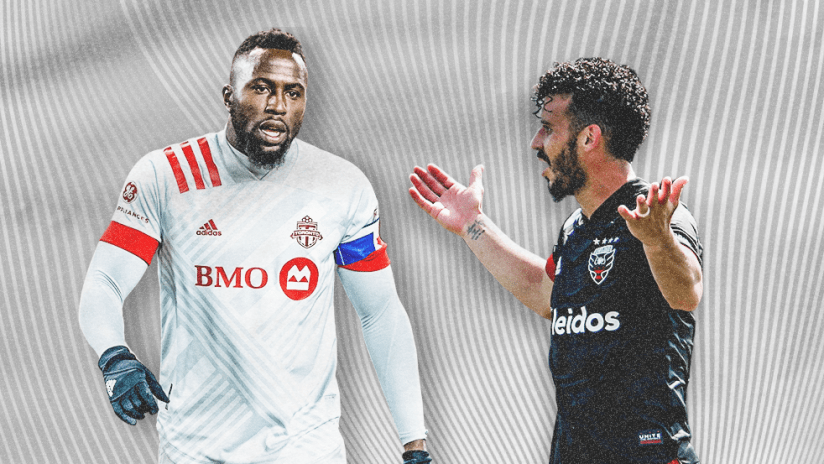 Jozy Altidore and Felipe Martins - dual image - July 2020